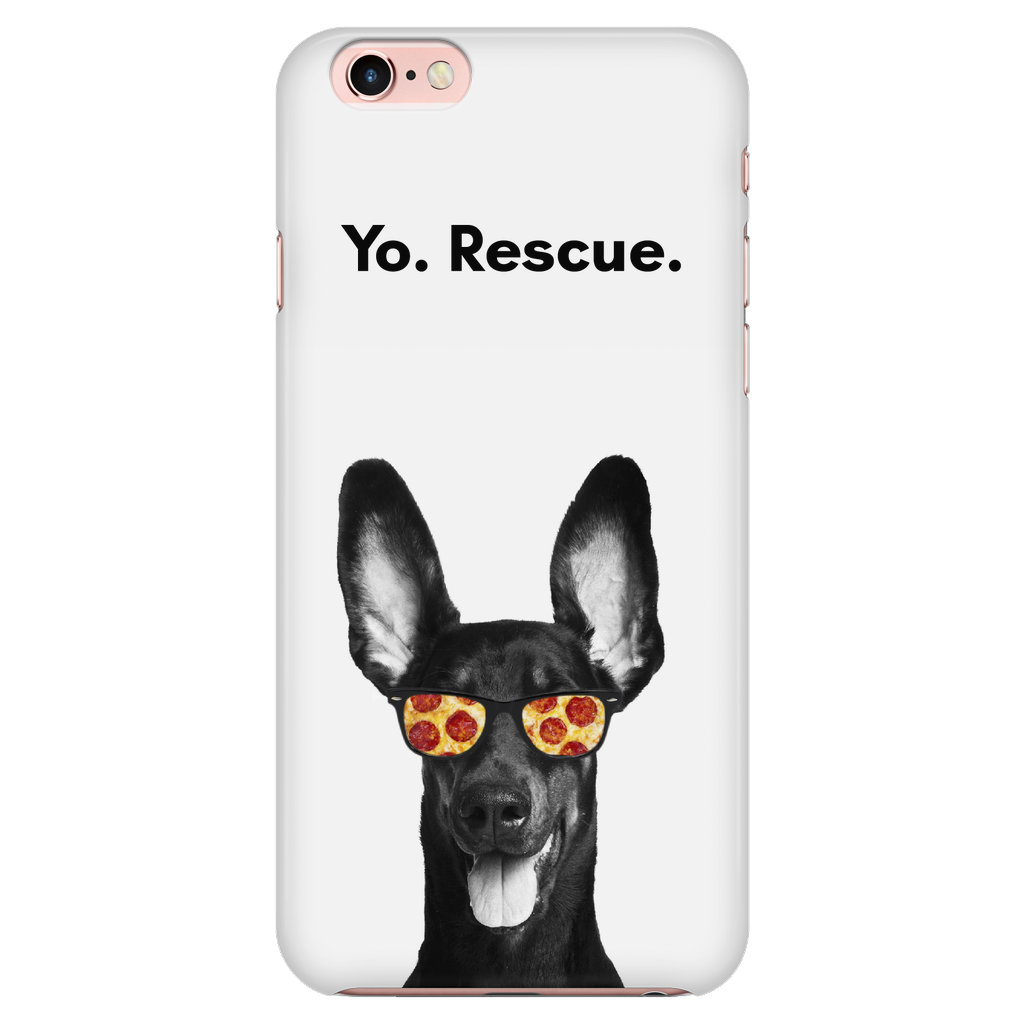 iPhone 7/7s Yo Rescue Pizza Dog Phone Case with Ultra Slim Durable Profile