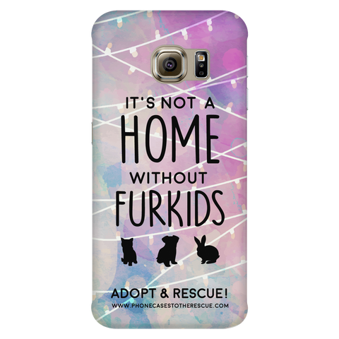 Samsung Galaxy S6 Edge For the Love of Fur Babies Phone Case with Ultra Slim Durable Profile