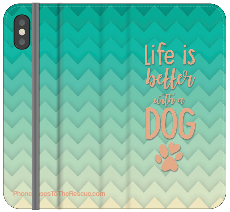 Life Is Better Folio Case - iPhone X