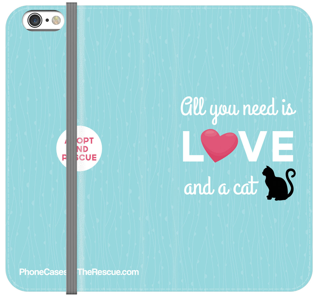 All You Need Is Love Folio Case - Galaxy S6