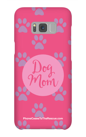 Samsung Galaxy S8 Plus Dog Mom Phone Case with Tough Rugged Protection