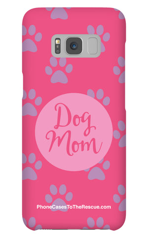 Samsung Galaxy S8 Dog Mom Phone Case with Tough Rugged Protection