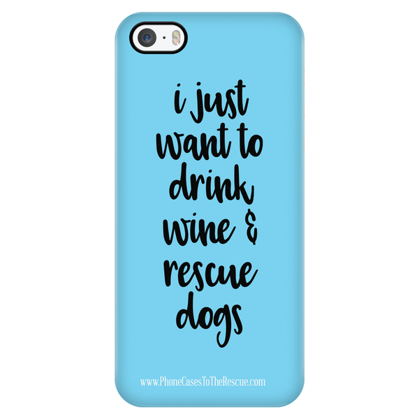 Drink Wine & Rescue Dogs - Available for Androids & iPhones
