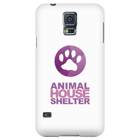 Samsung Galaxy S5 Animal House Shelter Collaboration Phone Case with Ultra Slim Profile