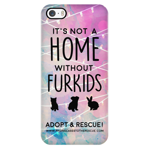 iPhone 5/5s For the Love of Fur Babies Phone Case with Ultra Slim Durable Profile