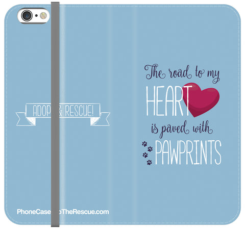 Road To My Heart Folio Case - Galaxy S6