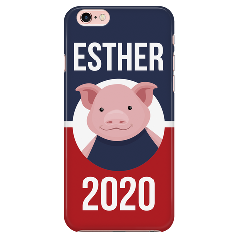 iPhone 6/6s Esther 2020 Patriotic Phone Case with Ultra Slim Durable Profile