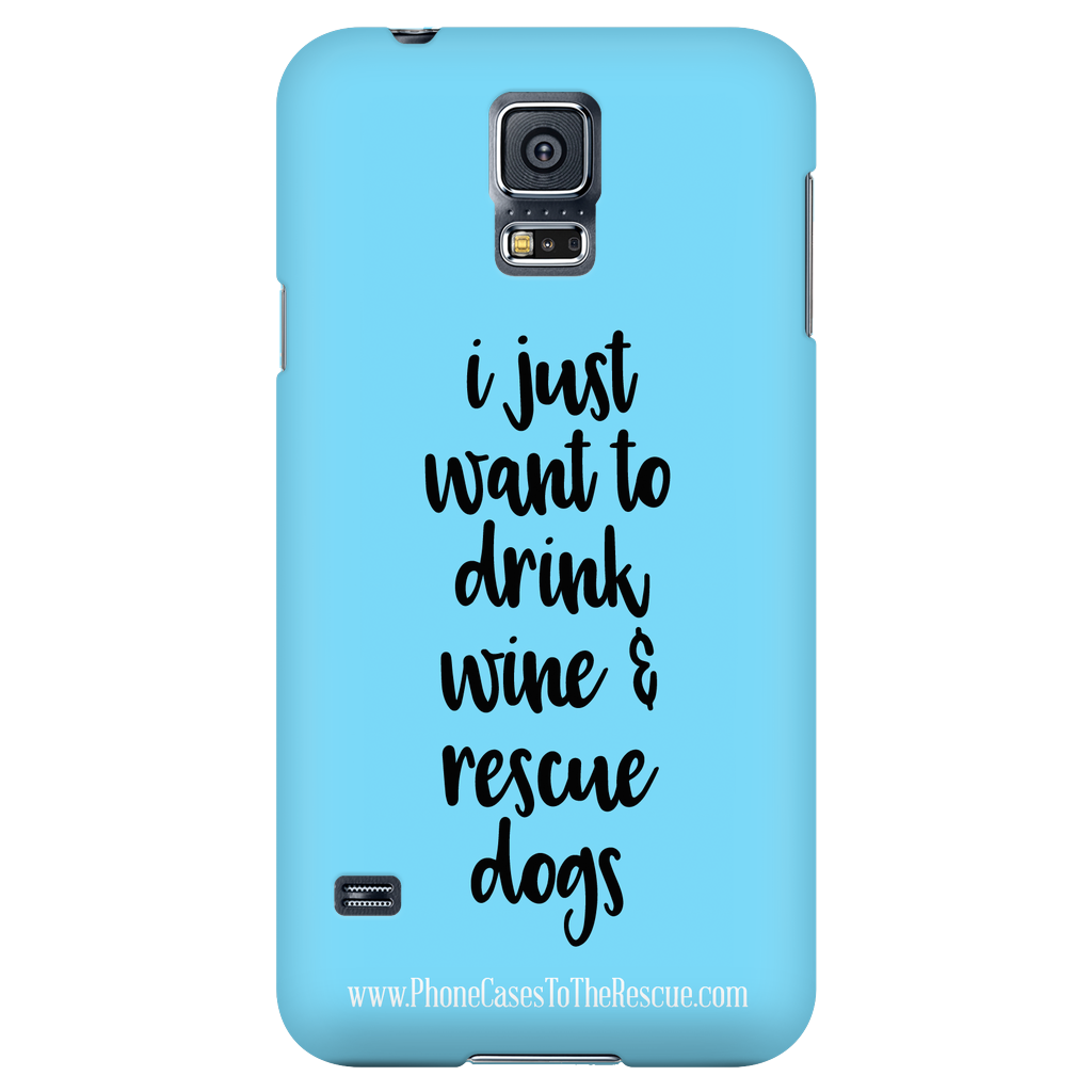 Samsung Galaxy S5 Rescue Dogs Phone Case with Ultra Slim Profile