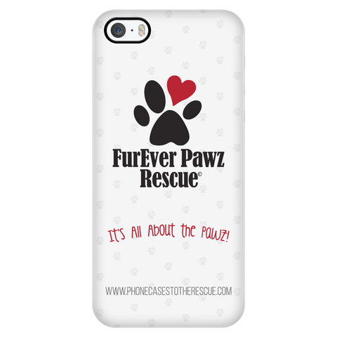 iPhone 5/5s FurEver Pawz Rescue Collaboration Case with Ultra Slim Durable Profile