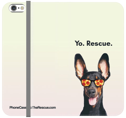 Yo Rescue Folio Case - iPhone X