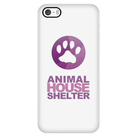 iPhone 5/5s Animal House Shelter Collaboration Case with Ultra Slim Durable Profile