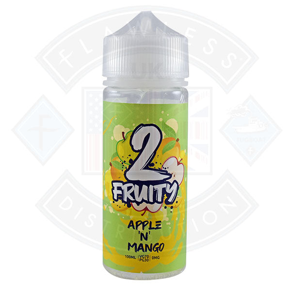 2 Fruity- Apple Mango 0mg 100ml Shortfill