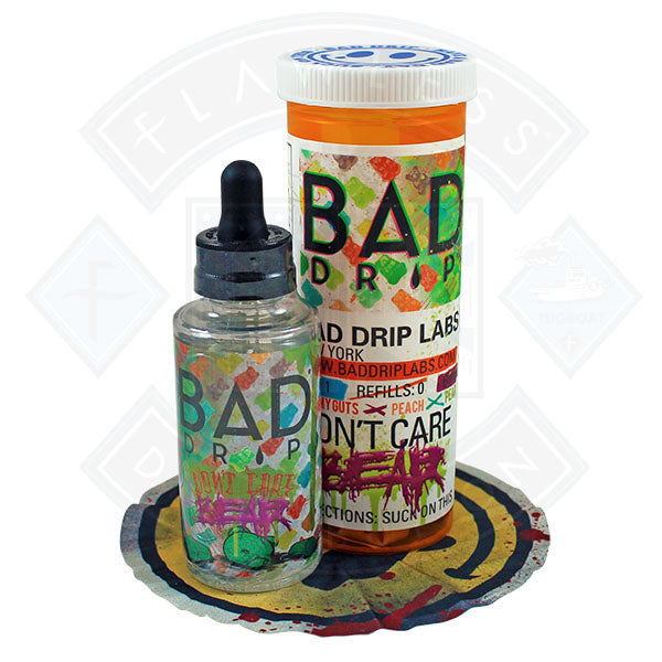 Bad Drip Don't Care Bear 50ml 0mg Shortfill E-liquid