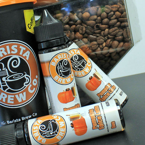Barista Brew Co. Pumpkin Spice Latte 0mg 50ml Shortfill