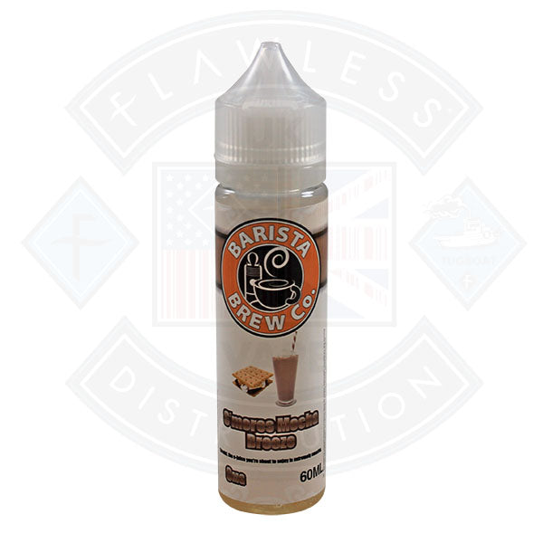 Barista Brew Co. S'mores Mocha Breeze 0mg 50ml Shortfill
