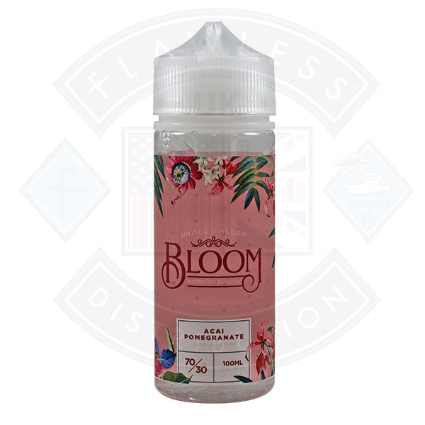 Bloom Acai Pomegranate 0mg 100ml Shortfill E-Liquid