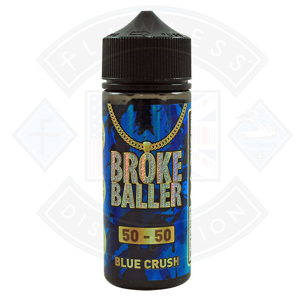 Broke Baller Blue Crush 0mg 80ml Shortfill E-Liquid