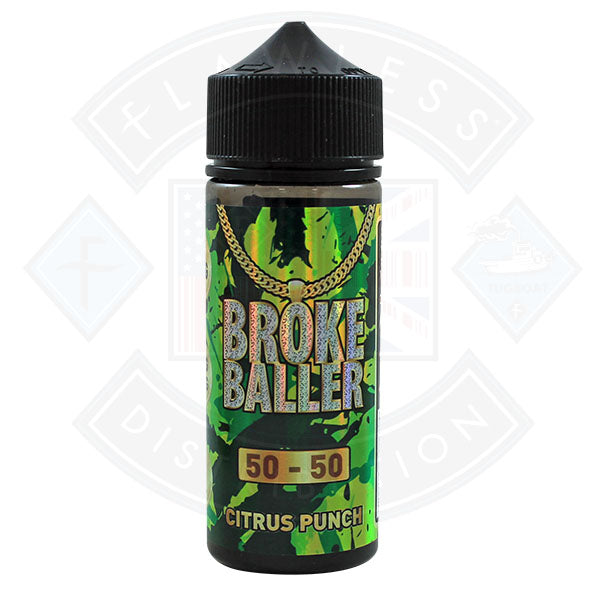 Broke Baller Citrus Punch 0mg 80ml Shortfill E-Liquid