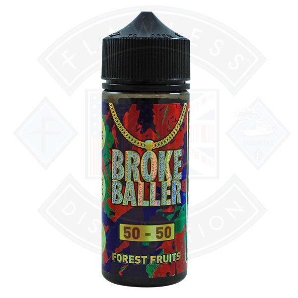 Broke Baller Forest Fruits 0mg 80ml Shortfill E-Liquid