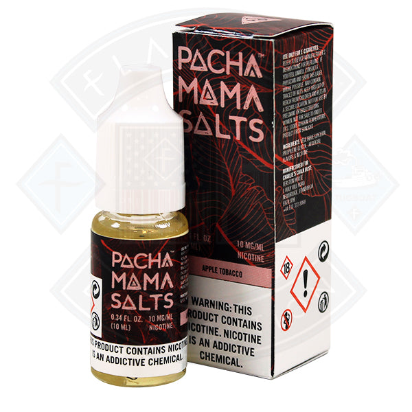 Pacha Mama Salts Apple Tobacco 10ml E Liquid