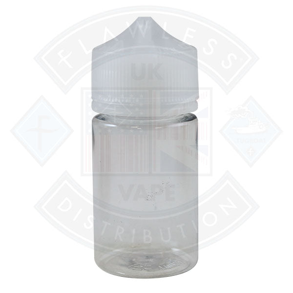 Chubby Gorilla 75ml Clear Transparent Bottle with Clear Cap