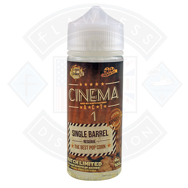 Clouds of Icarus Cinema Act 1 The Best Popcorn 0mg 100ml Shortfill
