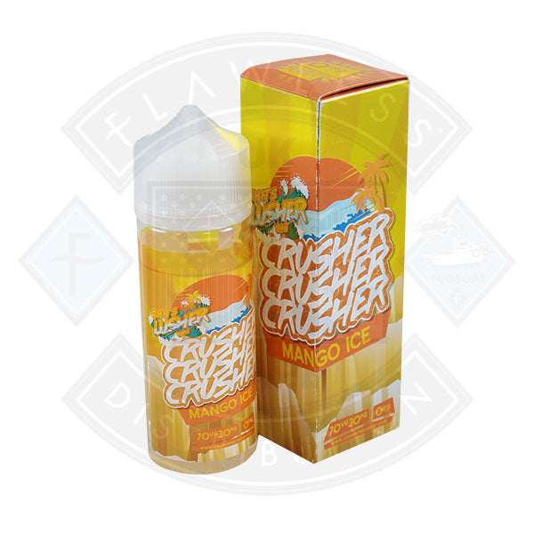 Crusher Mango Ice 100ml 0mg shortfill e-liquid