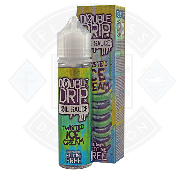 Double Drip Twisted Ice Cream 0mg 50ml Shortfill