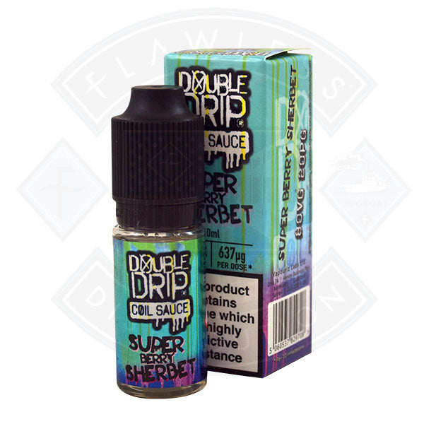 Double Drip Super Berry Sherbet TPD Compliant - 10ml