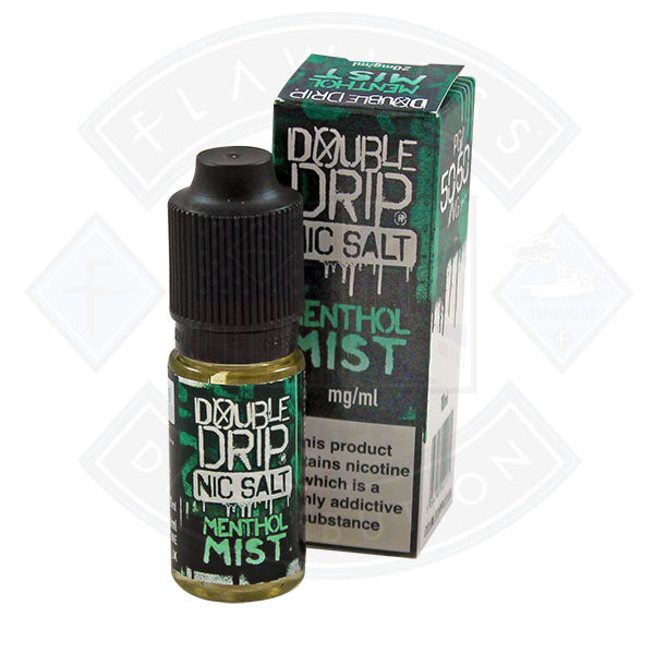 Vapouriz Double Drip Nic Salt Menthol Mist 10ml E-liquid