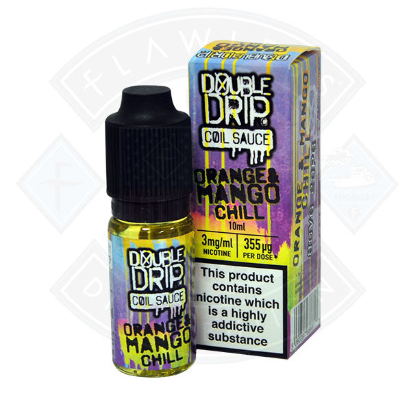 Orange and Mango Chill By Double Drip TPD Compliant - 10ml