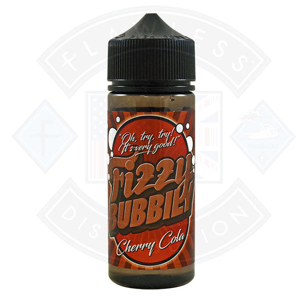 Fizzy Bubbily Cherry Cola 0mg 100ml Shortfill