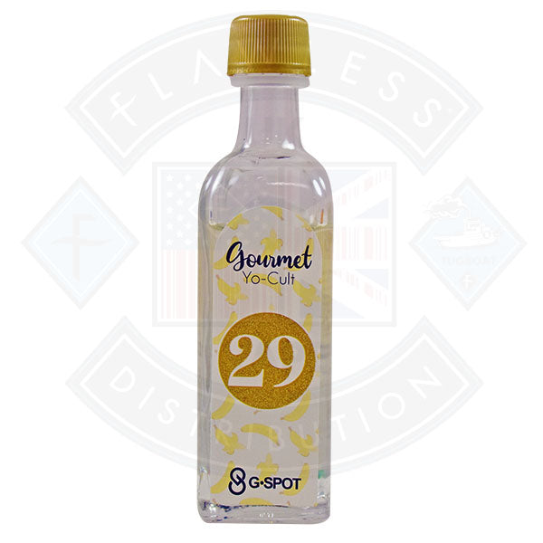 G. Spot Gourmet 29  0mg 50ml Shortfill E-Liquid