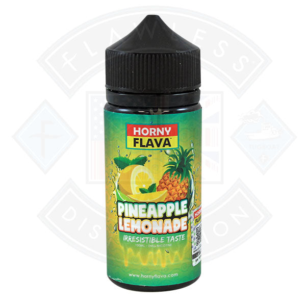 Horny Pineapple Lemonade 100ml 0mg E Liquid