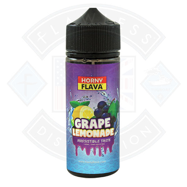 Horny Grape Lemonade 100ml 0mg E Liquid