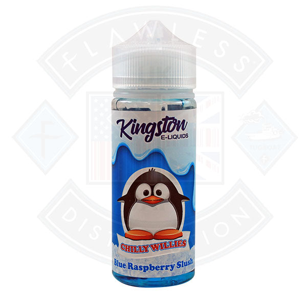 Kingston Chilly Willies - Blue Raspberry Slush 0mg 100ml Shortfill