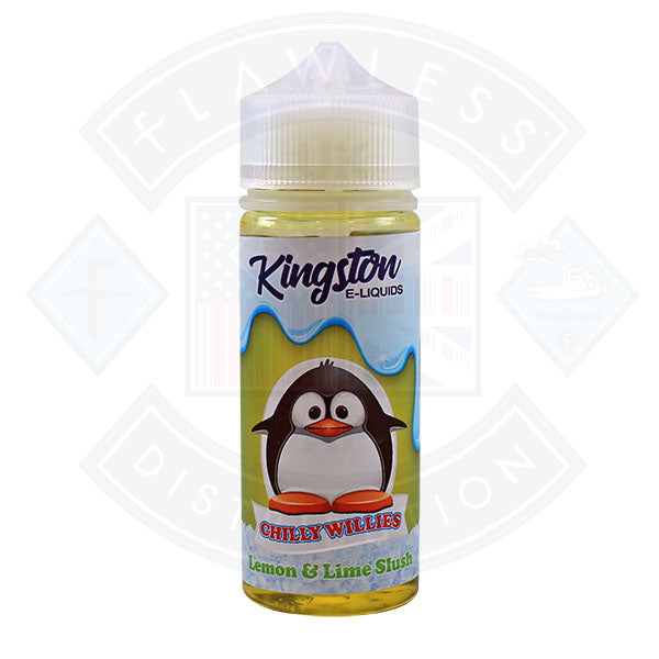 Kingston Chilly Willies - Lemon & Lime Slush 0mg 100ml Shortfill