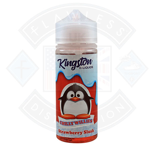 Kingston Chilly Willies - Strawberry Slush 0mg 100ml Shortfill