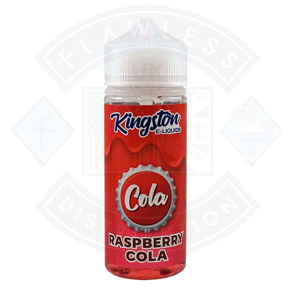 Kingston Cola - Raspberry Cola 0mg 100ml Shortfill