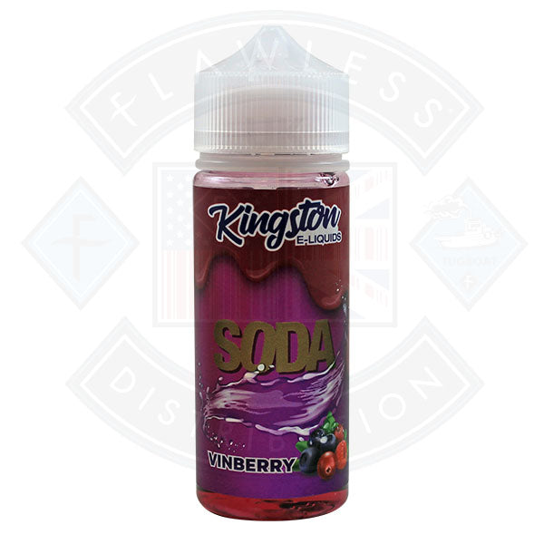 Kingston Soda - Vinberry 0mg 100ml Shortfill