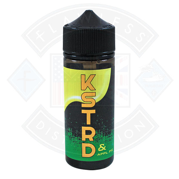KSTRD Apple Pie 100ml 0mg shortfill e-liquid