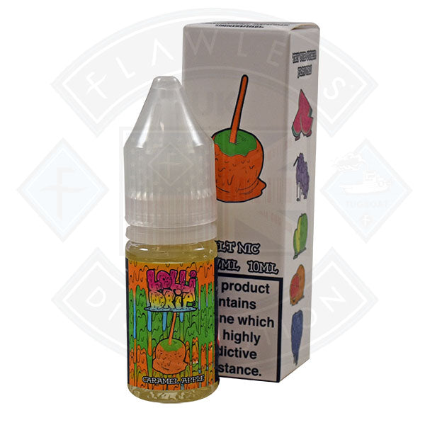 Lollidrip Nic Salt Caramel Apple 10ml