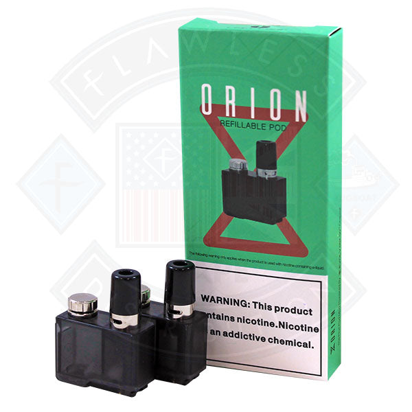Lost Vape Orion Refillable Pod SS Organic Cotton  2pcs/pack