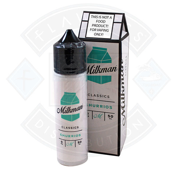 The Milkman Churrios 50ml 0mg shortfill e-liquid