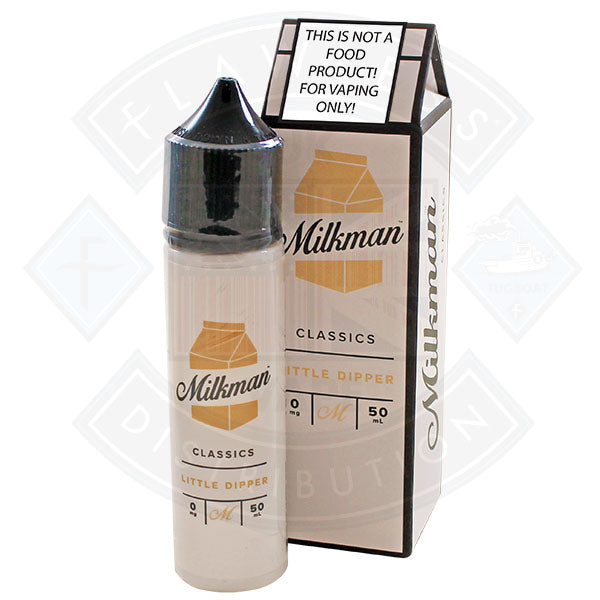 The Milkman Classics Little Dipper 50ml 0mg shortfill e-liquid