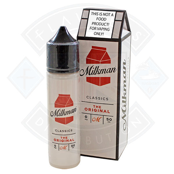 The Milkman Classics The Original 50ml 0mg shortfill e-liquid