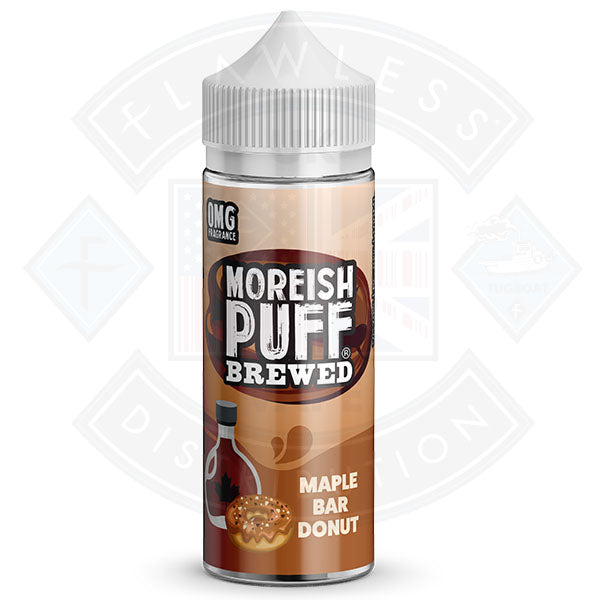 Moreish Brewed Maple Bar Donut 100ml 0mg shortfill e-liquid
