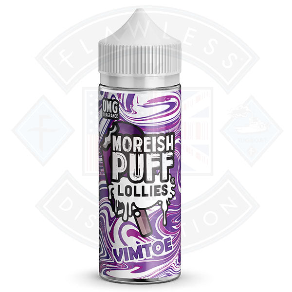 Moreish Lollies Vimtoe 100ml 0mg shortfill e-liquid