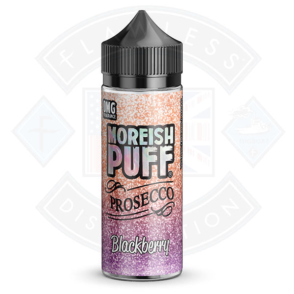 Moreish Puff Prosecco Blackberry 0mg 100ml Shortfill E-liquid
