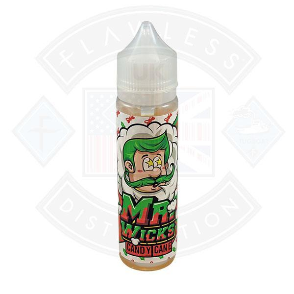 Mr Wicks Candy Cane 0mg 50ml Shortfill e-liquid